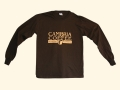 Cambria Coffee Dark Brown Long Sleeve Shirt